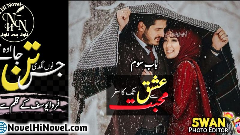 Jis Tan Nu Lagdi O Tan Jane By Farwa Yousaf Continue Novel Chapter No 03