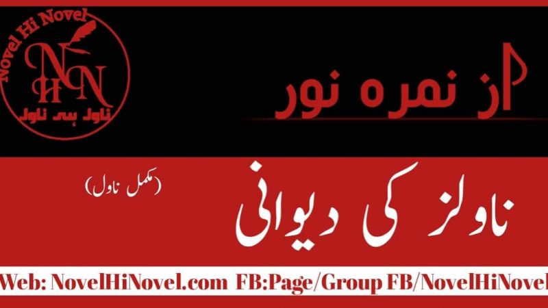 Novels Ki Dewani By Nimra Noor