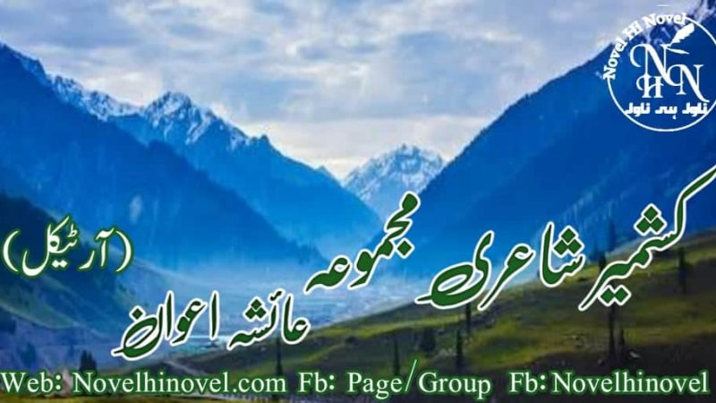 Poetry Kashmir By Ayesha Awan